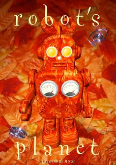 It is the robot of dead leaves