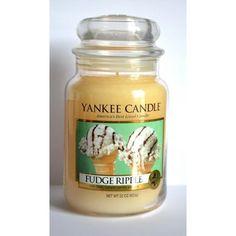 Bougie parfumée Grande Jarre FUDGE RIPPLE Yankee Candle large jar exclu US USA