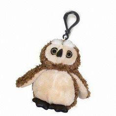 Owl Plush Keychain JKT-032 - Plush Keychain - Products - Joylink Toys - Plush Toys+Educational Toys+Doll+Cushion & Pillow+Cartoon Toys Manufactory