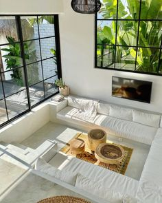 Dream Home Design, My Dream Home, Simple Home Design, Sunken Living Room, Dream Rooms, House Rooms, Cheap Home Decor, Home Decoration, Stylish Home Decor