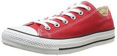 Converse AS Ox Can red M9696 Unisex-Erwachsene Sneaker, Rot (red), EU 44(US 10) - http://on-line-kaufen.de/converse/44-converse-chucks-ct-lean-ox-142270c-white-43