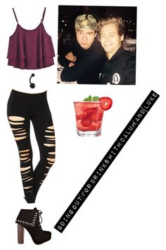 """Drinks"" by xxmia-hood-xx ❤ liked on Polyvore featuring Naughty Monkey"
