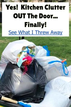 Tidy Kitchen, Hidden Kitchen, Kitchen Items, Clutter Organization, Home Organization Hacks, Getting Organized At Home, Clutter Solutions, Declutter Your Home, Feeling Overwhelmed