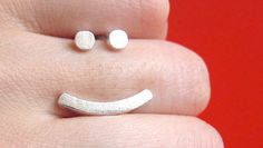 Smiley Ring! So many cute rings on this page it was hard to pick out just one to pin :)