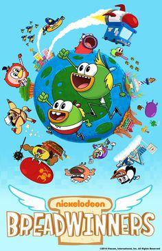 BreadWinners Brand NEW Show Premieres Saturday FEBRUARY 22nd 11/10c on Nickelodeon #SteveBorst #GaryDoodles #Nickelodeon https://www.nick.com/breadwinners