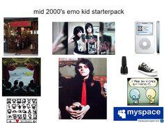 I was this kid. Minus the myspace.