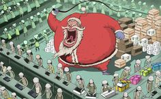 Artist Steve Cutts is a freelance illustrator based in London. He creates satirical illustrations that portray the (sad) truth about the world we live in. Caricatures, Sketch Manga, Satirical Illustrations, Film D'animation, The Ugly Truth, Powerful Images, Cartoon Cartoon, Art And Illustration, Pikachu
