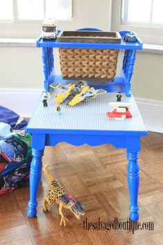 DIY Upcycled Lego Table | The Salvaged Boutique