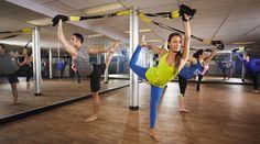 Yoga stretches using TRX - http://www.coretrainingtips.com/types-of-stretching/