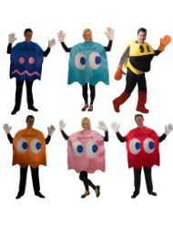 our homemade pacman famliy costumes kost m. Black Bedroom Furniture Sets. Home Design Ideas
