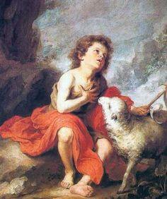 Juan Bautista de Niño del Pintor Murillo