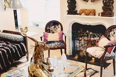 Living Room - sea of shoes blog