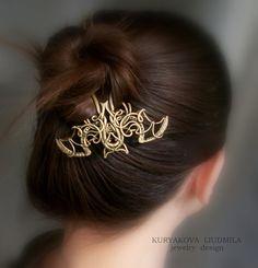 Хэллоуинлетучая мышьзаколкашпилька для волос von KLDesignerJewelry, $185.00