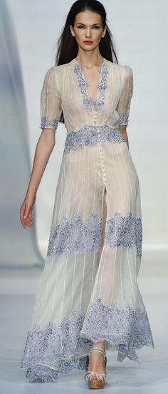 Luisa Beccaria Ready To Wear 2014