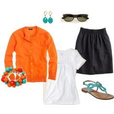 I'm really liking orange