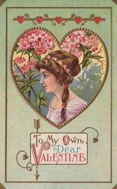 freebie vintage valentine clip art