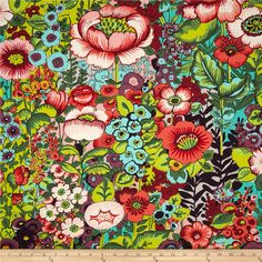 Designed by DeLeon Design Group for Alexander Henry, this fabric is perfect for quilting, apparel and home décor accents.