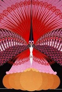 Erte, Art Deco fashion #Erte #Deco #fashion