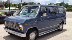 1988 Ford Econoline this Van is ready to go with super low miles only driven 2500 miles per year.This Van has brand new tires,Fly Wheel,starter,al. Car Ford, Ford Trucks, Ford Transit Camper, Team Goals, 4x4 Van, Us Cars, Car Humor, Vans Classic, Camper Van