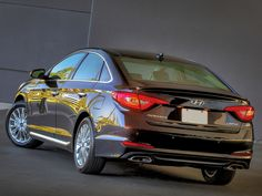 The redesigned 2015 Hyundai Sonata currently ranks second among affordable midsize cars, which is an improvement over the 2014 model that placed ninth in the class when it was new. Here's how the redesign helped the Hyundai Sonata jump seven . Hyundai Cars, New Hyundai, Hyundai Sonata, Driving Test, Champs, Vehicles, Sports, High Class, Wattpad