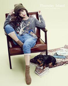 Yoon Seung Ah Thursday Island Fall 2013 Campaing