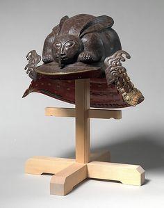 Yelmo en forma de conejo - Siglo XVII