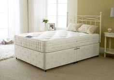 Apollo Beds Jubilee Pocket Sprung Double Divan Bed with 4 Free Drawers
