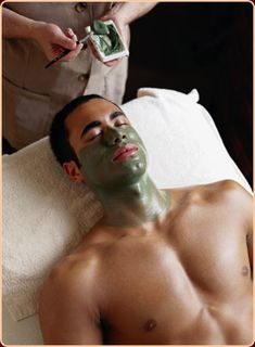 Men, you can enjoy a relaxing day at our spa too! #VSpa #SitBackAndRelax
