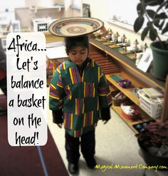 Musical Story for Preschoolers to Enjoy: African Inspired Walk to the River! | Magical Movement Company: Carolyn's blog