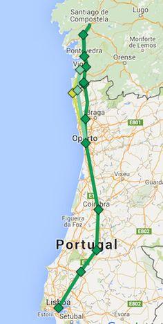 320 Ideeën Over Camino Portugues In 2021 Reizen Wandelen Vakantie