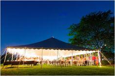 wedding tent!