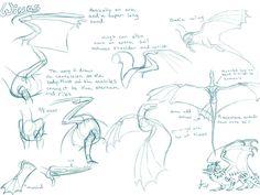 Dragon Wing Tutorial by *Nakase on deviantART