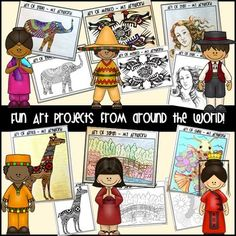 ART AROUND THE WORLD - COMMON CORE ALIGNED - TeachersPayTeachers.com