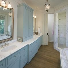 Double Vanity With Towers Design, Pictures, Remodel, Decor and Ideas - page 7