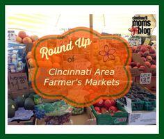Cincinnati Area Farmers Markets   Cincinnati Moms Blog