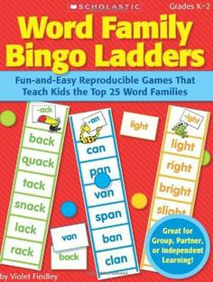 Prices for Word Family Bingo Ladders: Fun-And-Easy Reproducible Games That Teach Kids the Top 25 Word Families by Violet Findley