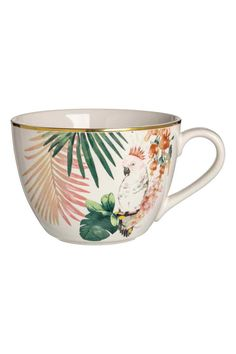 Porcelanowa filiżanka we wzory - Biały/Wzór - HOME | H&M PL 1