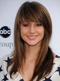 best hairstyle thin flat hair high forehead - Google Search