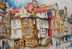 knobbles cobbles at the netherbow, Blythe Scott, Edinburgh