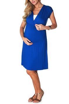 Basic Blue Maternity Dress  http://www.pinkblushmaternity.com/p-5313-basic-blue-maternity-dress.aspx