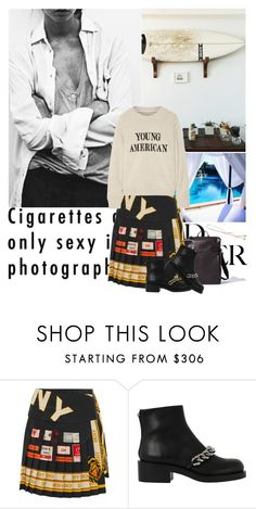 """Untitled #1954"" by yerina ❤ liked on Polyvore featuring DKNY, Givenchy and The Elder Statesman"
