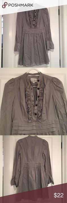 Alice Temperley for Target Tunic Took tags off, never wore. Missing one button on sleeve. Size 1. ALICE by Temperley Tops Button Down Shirts