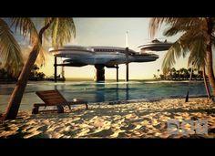 Underwater 'Discus' Hotel Planned For Dubai