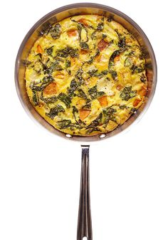 You might not realize just how tasty kale can be for breakfast until you sauté it with onion and roasted butternut squash. Top it with beaten eggs and mild, nutty Fontina cheese; and bake the whole thing until it's just set.