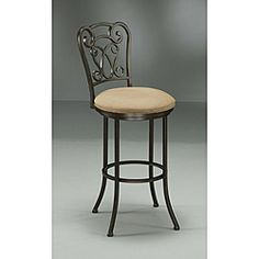 @Overstock - Add elegance to your home bar counter with chair-back, 30-inch bar stools. The chairs are made out of metal finished in dark Roletta brown, with seat cushions upholstered in light brown, so these bar stools are as fashionable as they are functional.http://www.overstock.com/Home-Garden/Vienna-30-inch-Brown-Bar-Stool/5233136/product.html?CID=214117 $134.99
