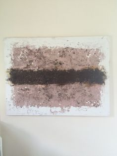 """2010    Original acrylic, mixed media,coffee grounds on canvas. This piece textural and contextually discusses the power & play, the gains & losses of society's megafocus on bodies, thought, & pleasure, andaddictions.    Dimensions  48""""w x 36""""h x 1"""" d    Free Shipping is available for this item within the continental US.  Intl shipping fee is based on its final destination.  Local Pickup within the surrounding Pitttsburgh, PA area is available.     Shop this product here…"""