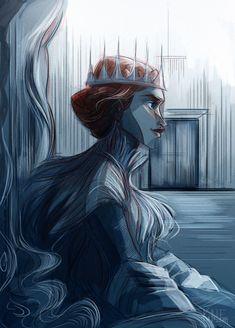 Queen In the North by kallielef.deviantart.com on @deviantART