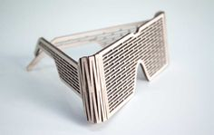 Shade by qwool - wooden seat made from a piece of wood without further additions or finishing.