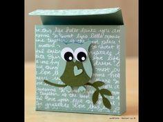 ▶ Sewing Kit Box - JanB UK Stampin' Up! Demonstrator Independent - YouTube