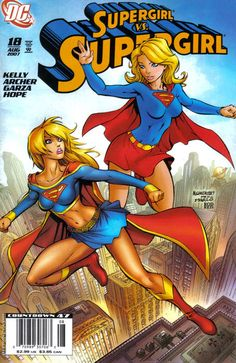 Cover for Supergirl (DC, August 2007) #18 [Newsstand Edition]